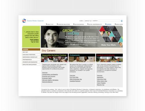 Oxy Website